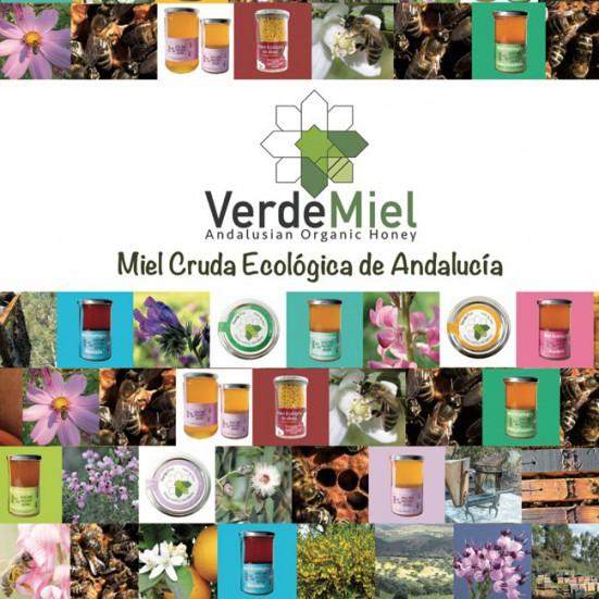 Regala salud, regala VerdeMiel Miel Cruda Ecológica de Andalucía