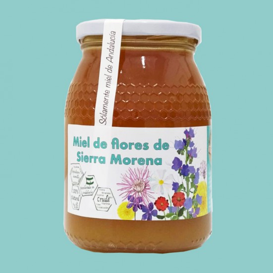 6 Kg of Raw Honey of Flowers of Sierra Morena LocalMiel