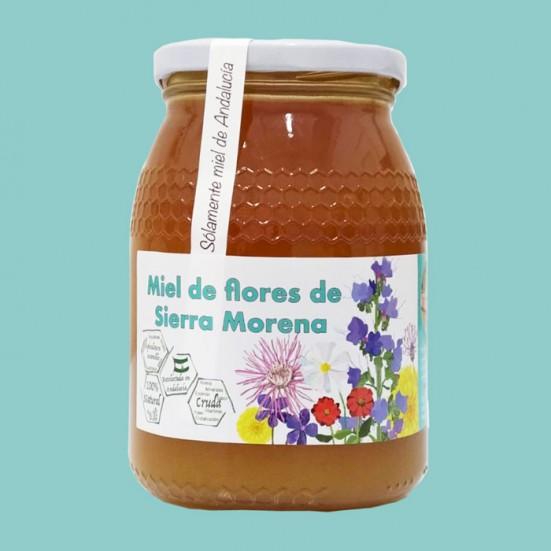 6 Tarros de 1Kg de LocalMiel Flores de Sierra Morena