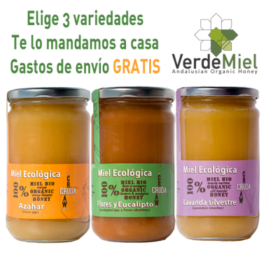 Local Organic Raw Honey VerdeMiel