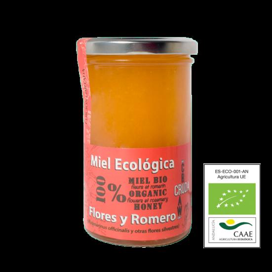 VerdeMiel Miel Ecológica Flores y Romero