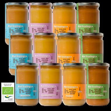 VerdeMiel Miel brut biologique des apiculteurs