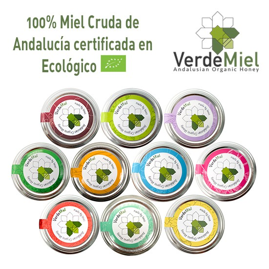 Pack particulares 6x800g Miel Ecológica