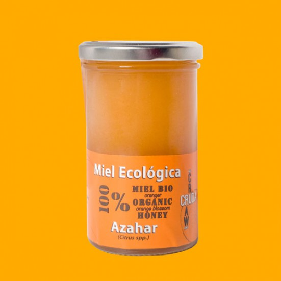 VerdeMiel 100% Miel Cruda Ecológica Azahar de Andalucía