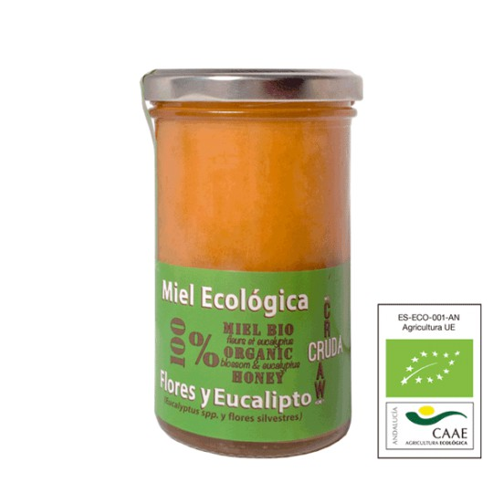 VerdeMiel 100% Raw Organic Honey Flowers and Eucalyptus