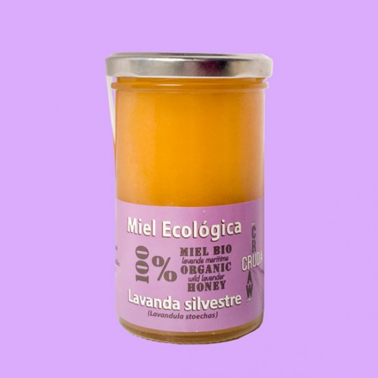 VerdeMiel 100% Miel Cruda Ecológica Lavanda silvestre de Andalucía