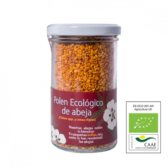 VerdeMiel 100% Polen Ecológico de Abeja de Sierra Morena