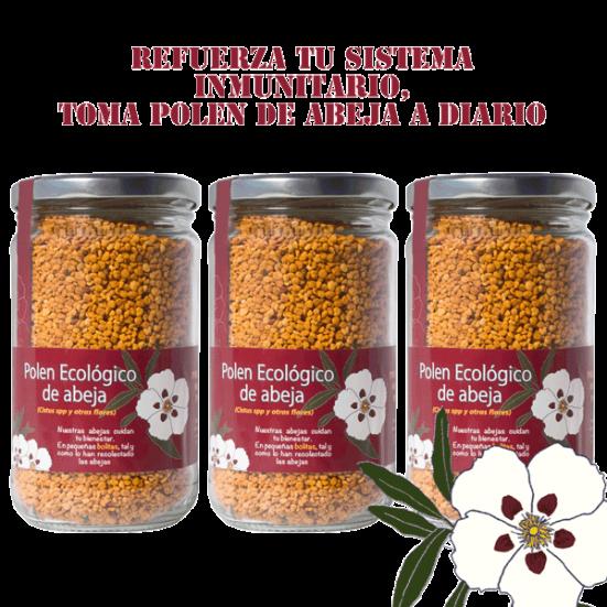 Pollen d'abeille biologique 360gx3
