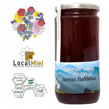 Flower Honey from the Sierras Subbéticas Loca