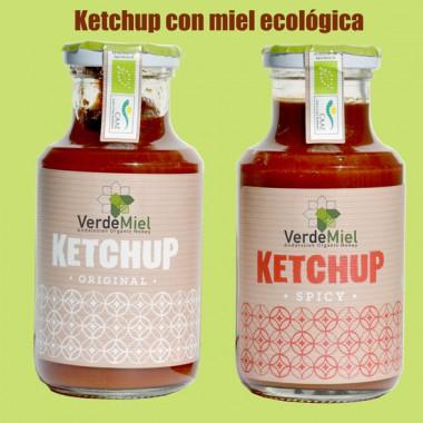Ketchup Ecológico con miel